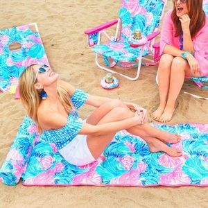 Lily Pulitzer GWP Beach Mat
